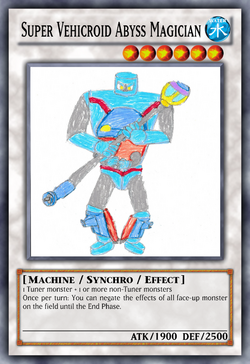 Super Vehicroid Abyss Magician