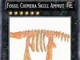 Fossil Chimera Skull Ammut