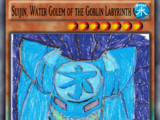 Suijin, Water Golem of the Goblin Labyrinth