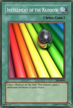 Instillment of the Rainbow