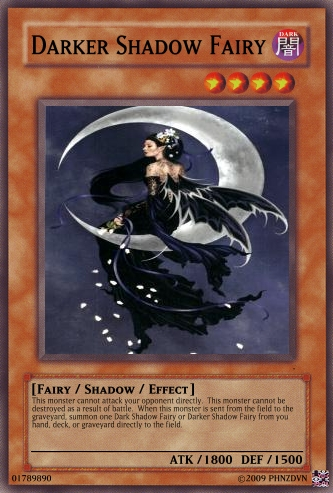 Darker Shadow Fairy | Yu-Gi-Oh Card Maker Wiki | FANDOM powered by Wikia