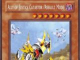 Ally of Justice Catastor /Assault Mode