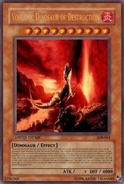 Volcanic Dinosaur of Destruction