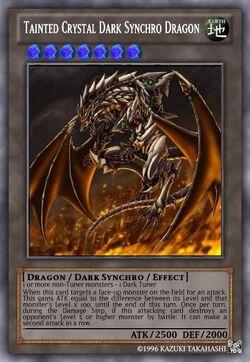 Tainted Crystal Dark Synchro Dragon