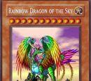 Rainbow Dragon of the Sky