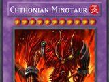 Chthonian Minotaur