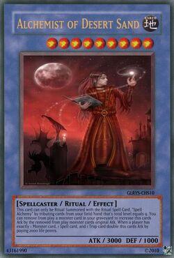 Alchemist of Desert Sands