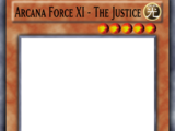 Arcana Force XI - The Justice