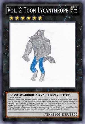 Vol. 2 Toon Lycanthrope