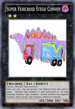 Super Vehicroid Stego Convoy