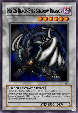 No.26 Black-Eyes Shadow Dragon