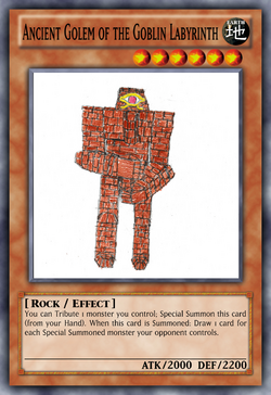 Ancient Golem of the Goblin Labyrinth