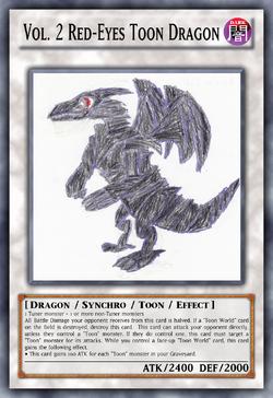 Vol. 2 Red-Eyes Toon Dragon