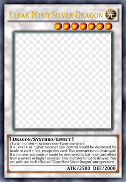 Clear Mind Silver Dragon