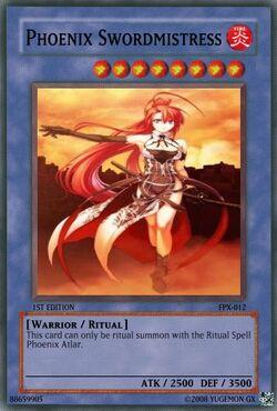 Phoenix Swordmistress