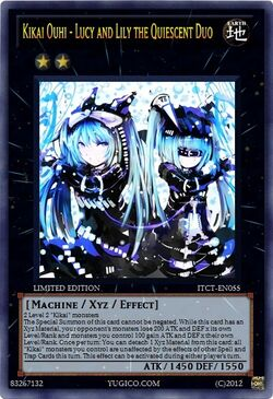 Kikai Ouhi - Lucy and Lily the Quiescent Duo
