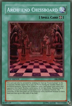Archfiend Chessboard