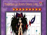 Magician of Black Chaos Girl