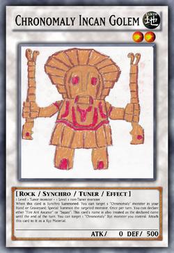 Chronomaly Incan Golem