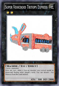 Super Vehicroid Tritops Express