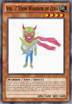 Vol. 2 Toon Warrior of Zera