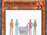A-Team: Paleontology Unit