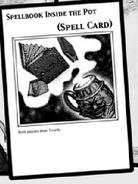 Spellbook inside the pot