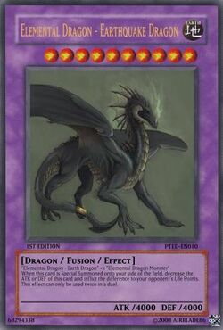 Elemental Dragon - Earthquake Dragon