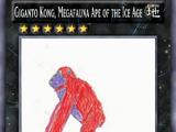 Giganto Kong, Megafauna Ape of the Ice Age