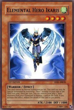 Elemental Hero Ikaris