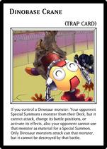 Dinobase Crane