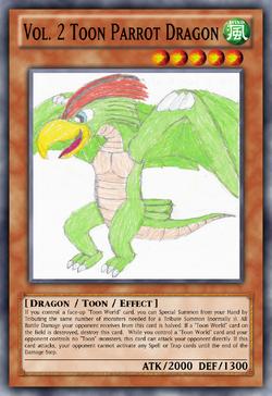 Vol. 2 Toon Parrot Dragon