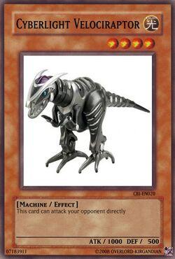 Cyberlight Velociraptor