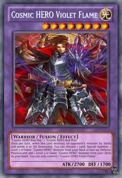 Cosmic HERO Violet Flame