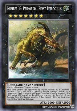 Number 35 Primordial Beast Tetroculus