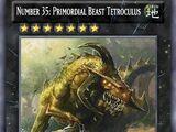 Number 35: Primordial Beast Tetroculus
