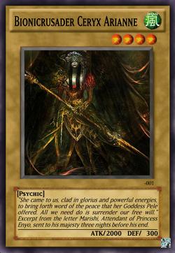 Bionicrusader Ceryx Arianne