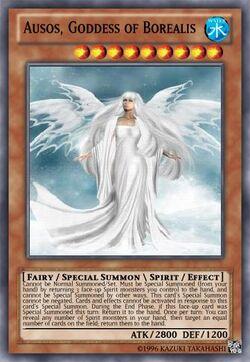 Ausos Goddess of Borealis