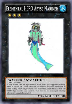 Elemental HERO Abyss Mariner