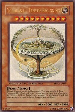 Yggdrasill, Tree of Beginning