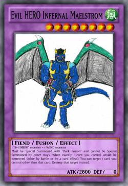Evil HERO Infernal Maelstrom