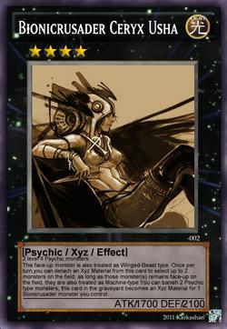 Bionicrusader Ceryx Usha