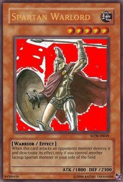 Spartan Warlord