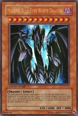 Malefic Blue-Eyes Ultimate Dragon