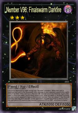Number V96 - Finalswarm Darkfire