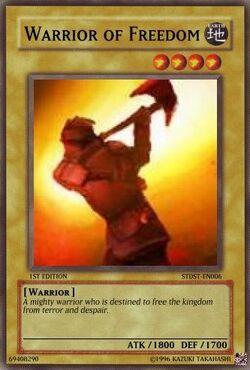 Warrior of Freedom