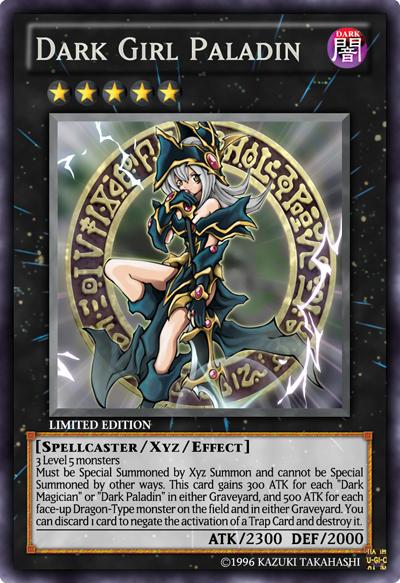 Dark Girl Paladin Yu Gi Oh Card Maker Wiki Fandom