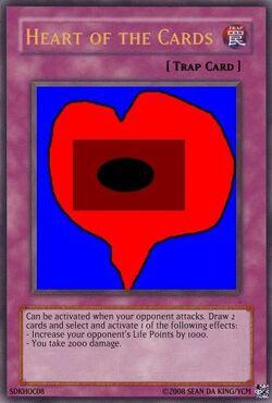 Heart of cards Sean da king