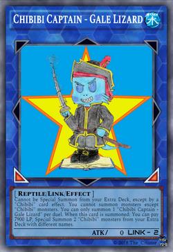 Chibibi Captain - Gale Lizard