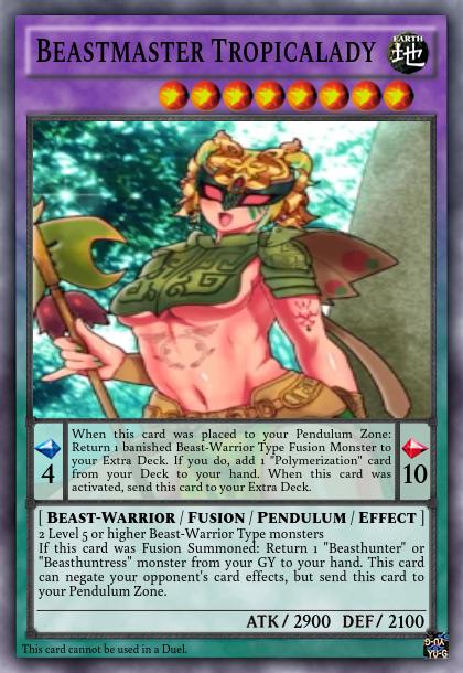 Beastmaster Tropicalady   Sakura CC Wiki   FANDOM powered by